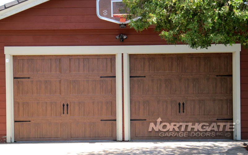 CS0032 Insulated steel dark oak gallery collection DG1LP. & Carriage-Style-Steel | Northgate Garage Doors Inc.™ pezcame.com