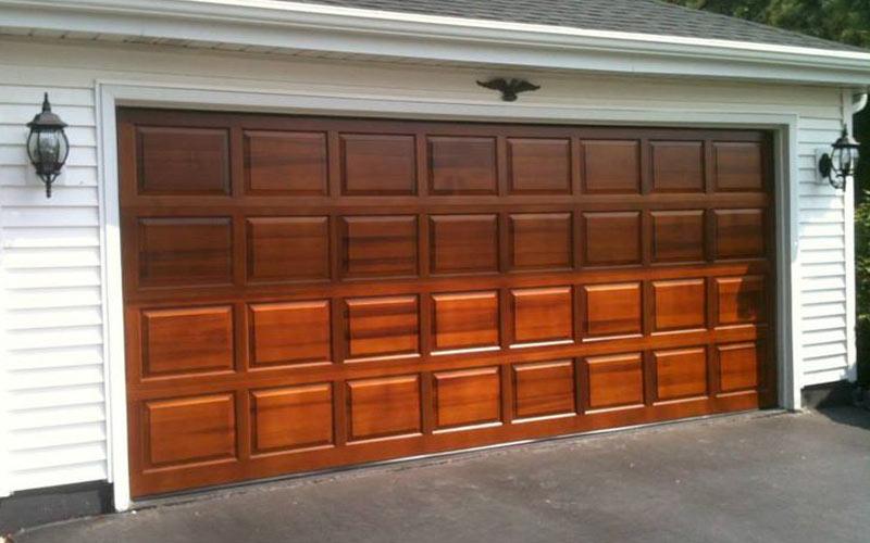 Traditional Wood Northgate Garage Doors Inc