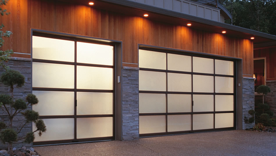 and insulated garage designs doors enchanting modern contemporary