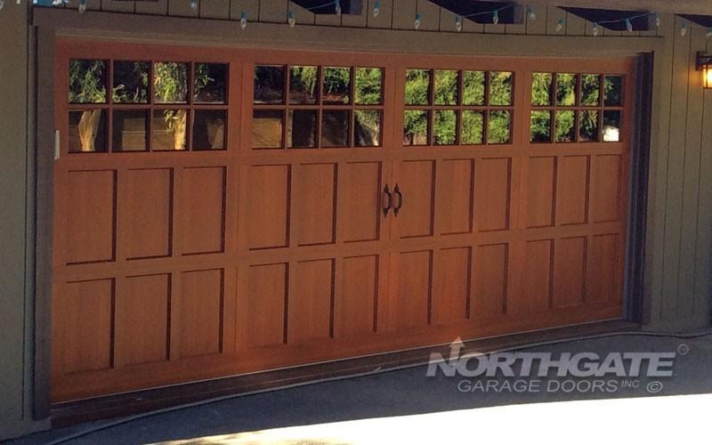 Carriage Style Aluminum Northgate Garage Doors Inc