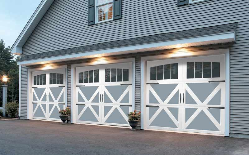 Carriage Style Steel Northgate Garage Doors Inc