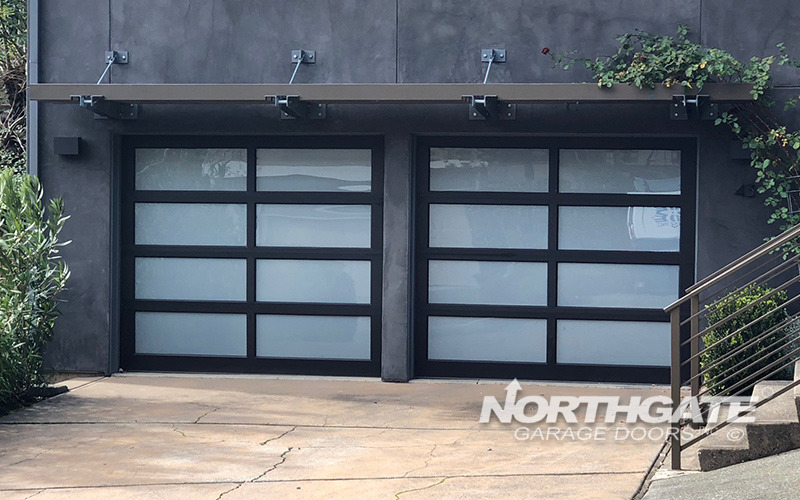 Aluminum Amp Glass Northgate Garage Doors Inc